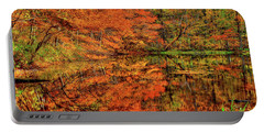 Reflection Of Autumn Portable Battery Charger by Midori Chan