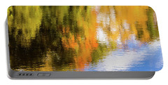 Reflection Of Fall #2, Abstract Portable Battery Charger