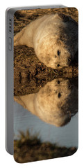 Reflection Of Seal Pup  Portable Battery Charger