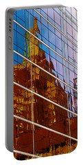 Reflection Of The Past - Tulsa Portable Battery Charger