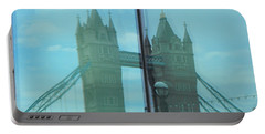 Reflection Tower Bridge Portable Battery Charger