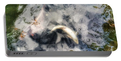 Reflections And Fish 8 Portable Battery Charger by Isabella F Abbie Shores FRSA