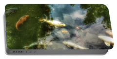 Reflections And Fish  Portable Battery Charger