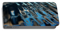 Portable Battery Charger featuring the photograph Reflections From A Dock by Debbie Oppermann