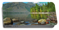 Reflections Glacier National Park  Portable Battery Charger