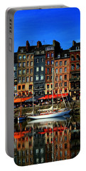 Reflections Honfleur France Portable Battery Charger
