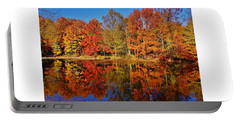 Reflections In Autumn Portable Battery Charger