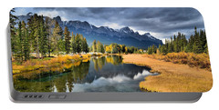 Reflections In Canmore Portable Battery Charger