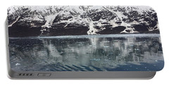 Reflections In Icy Point Alaska Portable Battery Charger