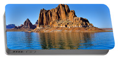 Portable Battery Charger featuring the photograph Lake Powell Reflections by Dany Lison