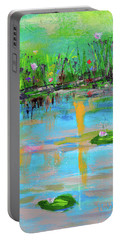 Reflections In Spring Portable Battery Charger