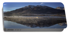 Reflections In The Loch Portable Battery Charger by Lynn Bolt