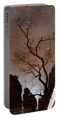 Reflections In Zion Portable Battery Charger by Daniel Woodrum