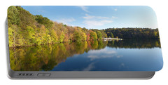Reflections Of Autumn Portable Battery Charger by Donald C Morgan