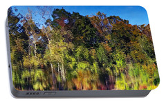 Portable Battery Charger featuring the photograph Reflections Of Autumn by Suzanne Stout