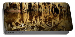 Portable Battery Charger featuring the photograph Reflections Of Dream Lake At Luray Caverns by Paul Ward