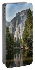 Portable Battery Charger featuring the photograph Reflections Of El Capitan by Kristia Adams