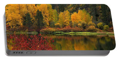 Reflections Of Fall Beauty Portable Battery Charger