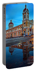 Reflections Of Granada, Nicaragua  Portable Battery Charger