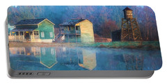 Reflections Of Hope - Hope Valley Art Portable Battery Charger by Jordan Blackstone