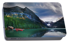 Portable Battery Charger featuring the photograph Reflections Of by John Poon