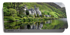 Reflections Of Kylemore Abbey Portable Battery Charger
