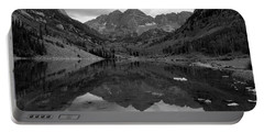 Reflections Of Maroon Bells Portable Battery Charger