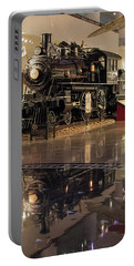 Portable Battery Charger featuring the photograph Reflections Of Steam by John Black