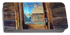 Reflections Of The Bodie Church Portable Battery Charger