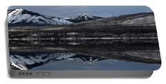 Reflections On Lake Mcdonald 3 Portable Battery Charger