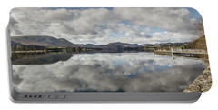Portable Battery Charger featuring the photograph Reflections On Ullswater by RKAB Works