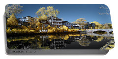 Reflections On Wesley Lake Portable Battery Charger