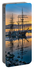 Reflectons On Sailing Ships Portable Battery Charger
