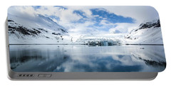 Reid Glacier Glacier Bay National Park Portable Battery Charger