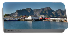 Reinebringen And Hamnoy Portable Battery Charger
