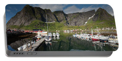 Reinebringen From Reine Port Portable Battery Charger