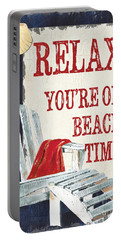 Relax You're On Beach Time Portable Battery Charger