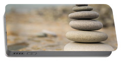 Relaxation Stones Portable Battery Charger by John Williams