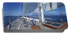 Relaxing On Deck Portable Battery Charger