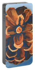 Portable Battery Charger featuring the painting Released by Erin Fickert-Rowland