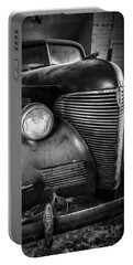 Old Car - Blue Ridge Mountains Portable Battery Charger