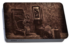 Portable Battery Charger featuring the photograph Relics by Mark Fuller