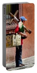 Religious Art Salesman Portable Battery Charger