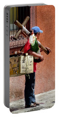 Religious Art Salesman Portable Battery Charger