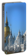 Wat Suan Dok Reliquaries Of Northern Thai Royalty Dthcm0947  Portable Battery Charger