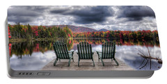 Relishing Autumn Portable Battery Charger by David Patterson