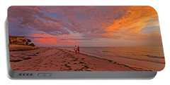 Portable Battery Charger featuring the photograph Remains Of The Day by HH Photography of Florida