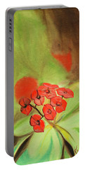 Remberance Poppy Portable Battery Charger