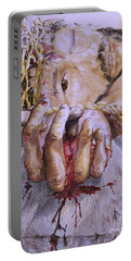 Portable Battery Charger featuring the mixed media Remember Me by Sheron Petrie