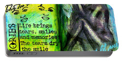 Remembering My Son -  Art Journal Entry Portable Battery Charger